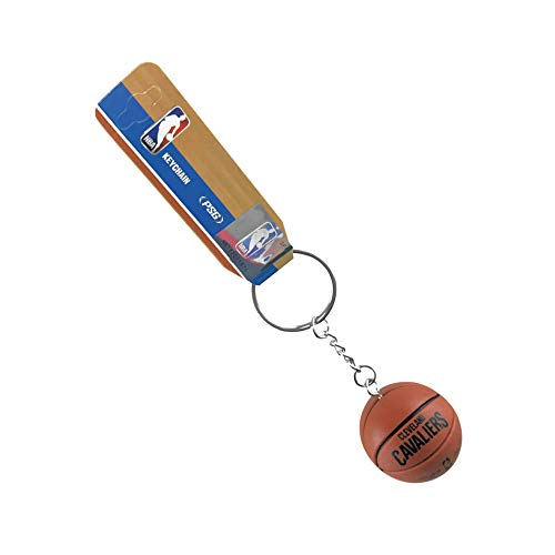 Basketball Nba Keychain (aminco NBA Officially Licensed Cleveland Cavaliers Mini Spalding Basketball Keychain)