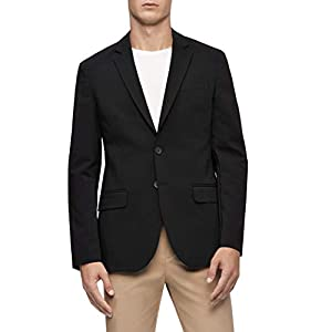 Calvin Klein Men's Move 365 Casual Wrinkle Resistant Tech Woven Blazer