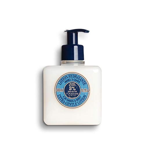 L Occitane Extra-Gentle 5 Shea Butter Hand Body Lotion, 10.1 fl. oz.