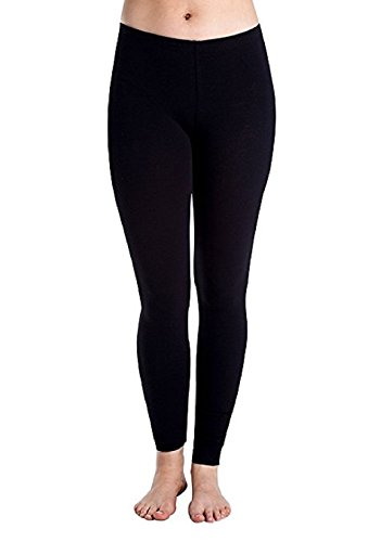 Cheryl Creations Women's Cotton Lycra Comfortable & Stretch Day/Night Jersey Leggings Made In -