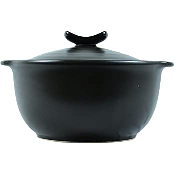 1.75 Quarts Stovetop Ceramic Stew Soup Hot Pot Rice Cooker with Lid, Stockpot Cookware for Multipurpose Use