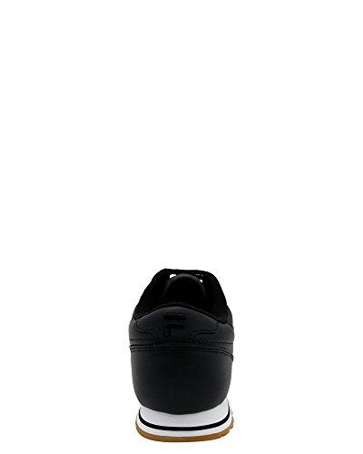 Fila Uomo Euro Jogger Ii Sneaker Nero / Bianco / Gomma