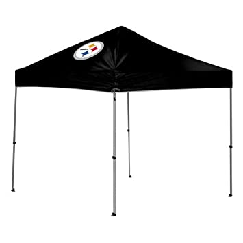 Coleman COL-07101082511 PItsburgh Steelers NFL 9x9 Straight Leg Canopy Tent  sc 1 st  Amazon.com & Amazon.com : Coleman COL-07101082511 PItsburgh Steelers NFL 9x9 ...