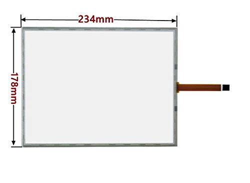 10.4inch 5 wire Resistive Touch screen Panel Digitizer for Industrial level, Handwritten liquid crystal touch screen,(234x178mm)