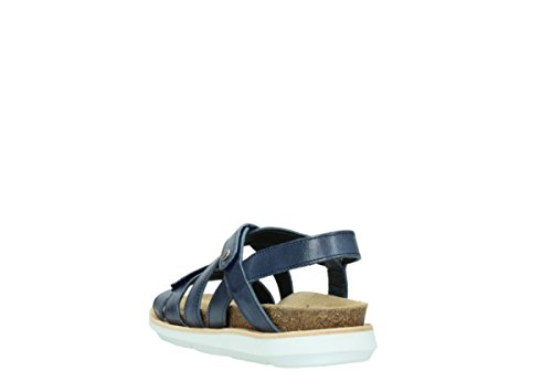 Wolky Comfort Sunstone 30870 blau Leder