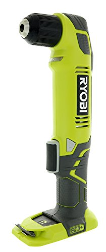 Rpm Right Angle Drill (Ryobi P241 One+ 18 Volt Lithium Ion 130 Inch Pounds 1,100 RPM 3/8 Inch Right Angle Drill (Battery Not Included, Power Tool Only))