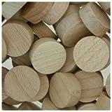 WIDGETCO 5/8'' Maple Wood Plugs, Face Grain
