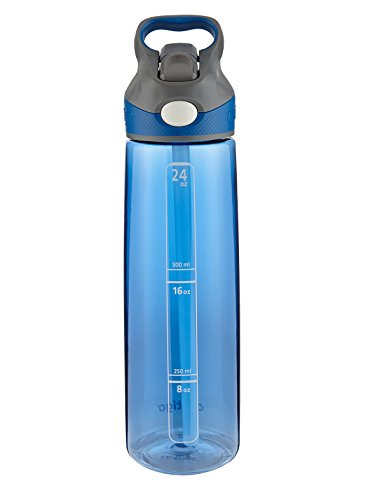 Contigo Auto Spout Addison Water Bottle, 24-Ounce, Monaco