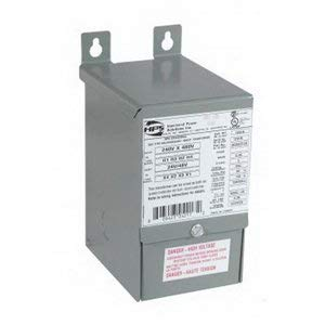 Hammond Power Solutions QC50ERCB 1 Or 3 Phase Copper Buck-Boost Transformer 120/240 Volt Primary 12/24 Volt Secondary 0.5 KVA HPS Universal™
