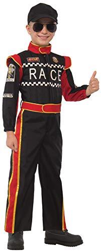 Forum Novelties Boy's Race Car Driver Outfit Funny Theme Fancy Dress Child Halloween Costume, Child S (4-6) - Race Car Boy Theme Baby