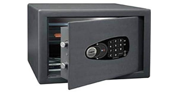 Btv decora - Caja fuerte e-1030 252x342x250 gris grafito: Amazon.es: Relojes