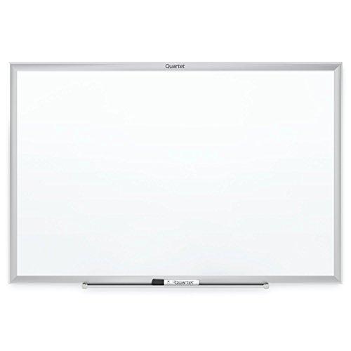 Quartet Whiteboard, White Board, Dry Erase Board, 6' x 4', Silver Aluminum Frame (S537)