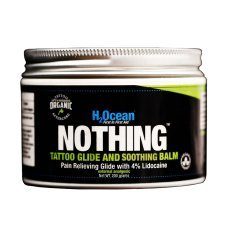 H2ocean Nothing Tattoo Glide and Soothing Balm W/lidocaine, 200g by H2Ocean