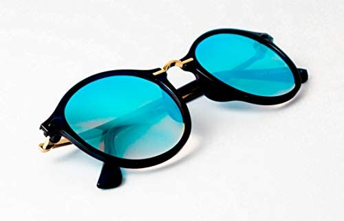 c71e6508c43 TheWhoop Stylish New Colorful Mirror Goggles Round Sunglasses For ...