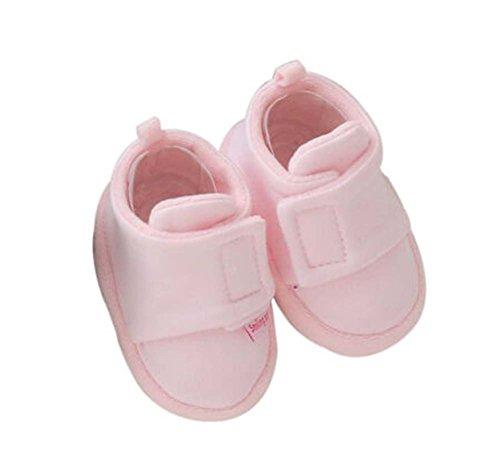 2 Pares De Sapatos Sola Macia Recém-nascidos Algodão-shoe-bebê, Criança, Rosa
