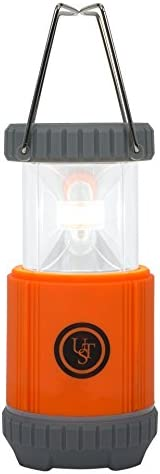 UST Ready LED Portable 250 Lumen Water Resistant Collapsible Lantern with Hook for Camping, Hiking, Emergency and Outdoor Survival
