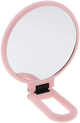 化粧鏡 ミラー 化粧ミラー 折りたたみ式 両面 拡大鏡 全3選択 - 2倍拡大