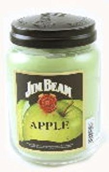 (Candleberry APPLE JIM BEAM 26 oz Scented Jar Candle by)