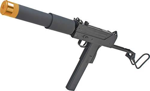 Evike JG Full Size/Metal Gearbox MAC-10 SMG Airsoft AEG Rifle