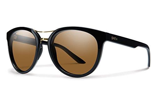 Smith Optics Bridgetown Chromapop Polarized Sunglasses, Black, Brown (Smith Sunglasses Lenses)