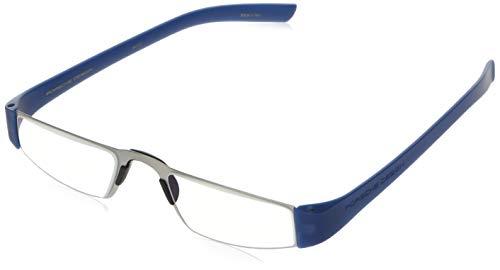 Porsche Design P8801 Eyewear Mens/Ladies Stainless Steel Half-Eye Readers Size 48-20-150mm