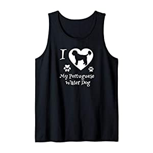 Portuguese Water Dog Gifts for Portuguese Water Dog Lovers Tank Top 35