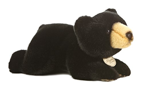 Aurora World Miyoni Black Bear Plush, 11