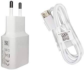 Movilux_ES Cargador Original MDY-08-EO (5V/2A) + Cable Micro USB para Xiaomi Redmi Note, Xiaomi Mi3, Mi 3S, Mi 4, Mi 4X, Redmi Note 4, Color Blanco, ...