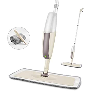 Amazon Com Spray Mop For Floor Cleaning Microfiber Floor