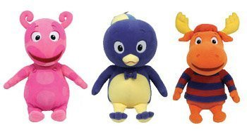 Ty Backyardigans Set of 3 Uniqua, Pablo, Tyrone Beanie for sale  Delivered anywhere in USA