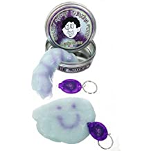 Thinking Putty Mystic Glacier with Blacklight-Slime Putty