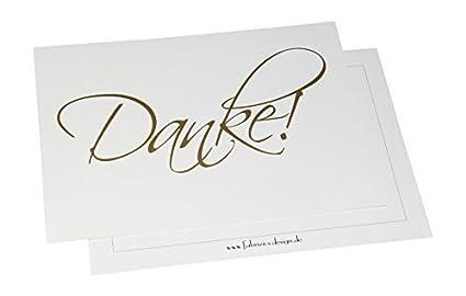 Dankeskarten Danke 10 Karten Mit 10 Umschlägen Danke Sagen Hochzeit Geburt Baby Taufe Geburtstag Firmung