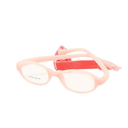 7166c0e17c Nuevo EnzoDate - Montura de gafas - para niño multicolor rosa - www ...