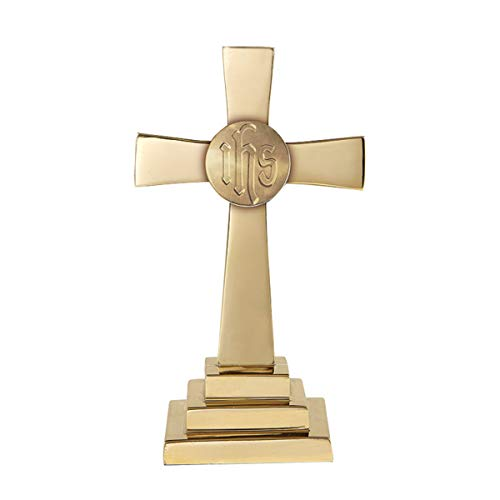 Ihs Cross - Chapel Altar Cross 12H