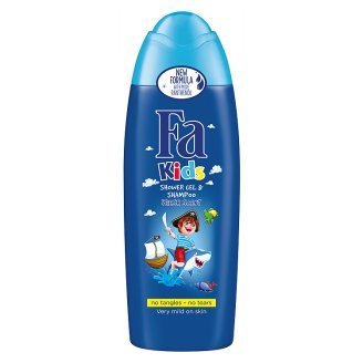 Fa Kids for Pirates Shower Gel and Shampoo for Boys 250 ml