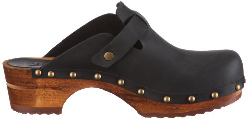 Clogs 2 Kristel Wood Sanita Women's Mules And Schwarz open Black zwtqP