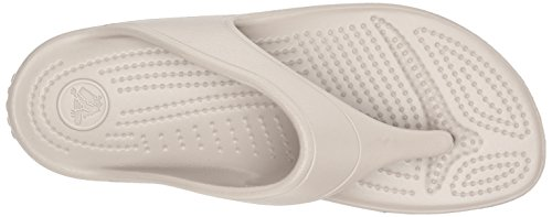 para Crocs Mujer Sloane Flip Platform Cu Platinum con a Sandalias Gris 11q0rw