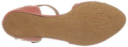 Neosens CAYETANA - sandalias abiertas de cuero mujer Rose (Pêche)