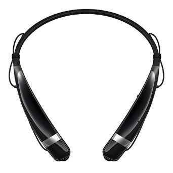LG Electronics Tone Pro HBS-760 Bluetooth Wireless Stereo Headset - Black (Certified Refurbished)