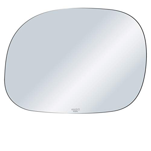 Rugged TUFF exactafit 8617L Driver Left Side Mirror Glass Replacement fits Ford Expedition F150 F250 F350 1997-2004