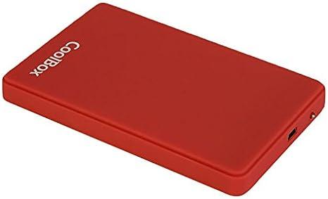 CoolBox SlimColor2542 - Carcasa externa para discos duros HDD y ...