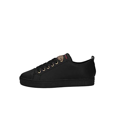 Borbonese Negro Zapatillas 100 6dp906w13 Mujer xSBH4qw