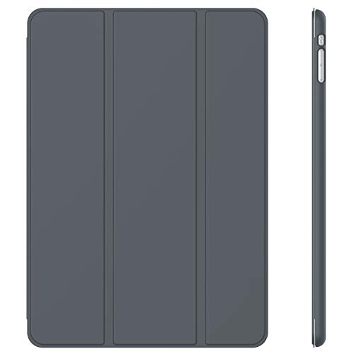 JETech Case for iPad Mini 1 2 3 (NOT for iPad Mini 4), Smart Cover with Auto Sleep/Wake, Dark Grey