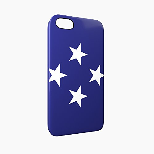 Flag of Federated States of Micronesia Glossy Hard Snap-On Protective iPhone 5 / 5S / SE Case Cover