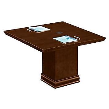 Modular 4 mesa de conferencia cuadrada: Amazon.es: Oficina y ...