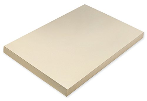 Pacon Super Heavyweight Tagboard, 12 x 18 in, Manila, Pack of 100