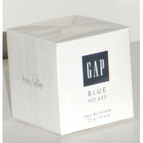 Gap Blue 655 for her women Eau De Toilette 0.5 Fl Oz 15 Ml