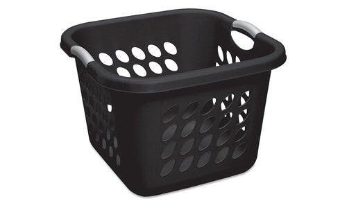 Sterilite Bushel Square Laundry Titanium