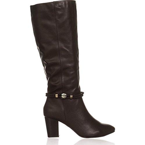 Brown Mid Dress Calf Galee KS35 Boots 0AO77x