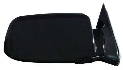 Depo 335-5402R3ML Glossy Black Passenger Side Manual Mirror